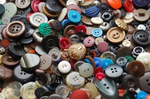 buttons for wall decor
