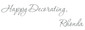 Happy Decorating, Rhonda Morin Signature Line